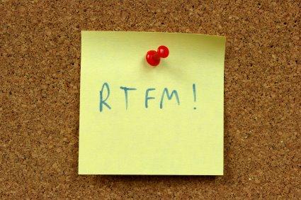 RTFM internet acronym